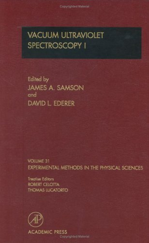 Vacuum Ultraviolet Spectroscopy I, Volume 31 (Experimental Methods in the Physical Sciences) (1998-08-03)