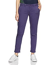 Flying Machine Women's Relaxed Cotton Pants