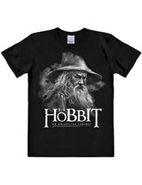 The Hobbit - An Unexpected Journey - T-hirt Gandalf - Noir & Blanc