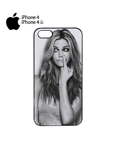 Funny Girl Picking Noise Beautiful Sexy Mobile Phone Case Cover iPhone 6 Plus + Black Noir