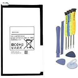 K KYUER 3.8V 4450mAh T4450E Tablet Batterie Portable pour Samsung Galaxy Tab 3 8.0 T310 T311 SM-T310(Wi-FI) SM-T311(3G & WiFi) SM-T315(3G, 4G/LTE&Wi-FI) Series T4450C T4450U SP3379D1H with Tools