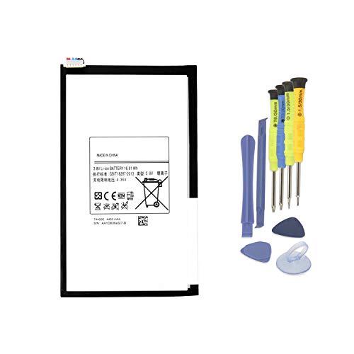batteria tablet samsung tab 3 K KYUER 3.8V 4450mAh T4450E Tablet Laptop Batteria di Ricambio per Samsung Galaxy Tab 3 8.0 T310 T311 SM-T310 SM-T311 SM-T315 Series T4450C T4450U SP3379D1H Battery with Tools