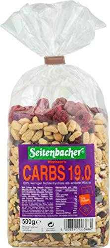 Seitenbacher Müsli Low Carb 19.0 Himbeer, 3er Pack (3 x 0.5 kg) (Die Macher Ernährung)