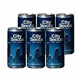 6x200ml City Secco Perlwein