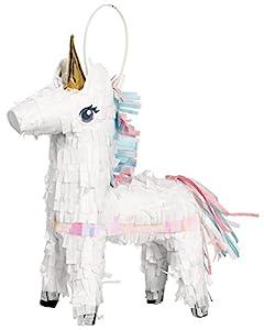 Amscan 242126Mini Piñata Magical Unicorn,