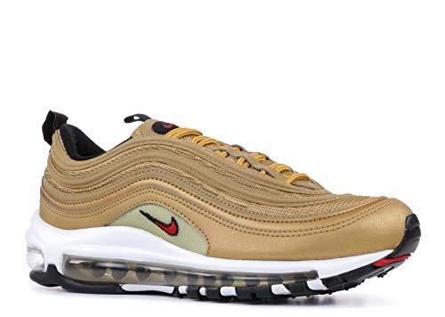 Nike Air Max 97 OG QS Schuhe Sneaker Women´s Neu (6.5 B(M), Metallic Gold/Varsity Red)