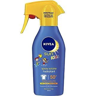 Nivea Sun Kids Spray Protect & Hydrate FPS50+ de 300ml.