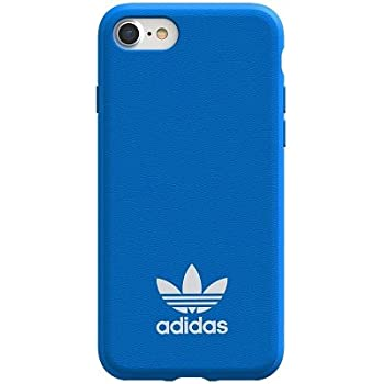 Coque Adidas iPhone 678 noir logo blanc