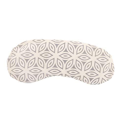 bodhi Augenkissen aus Baumwolle, Lotus Petals, Farbe Natur, gefüllt mit Bio-Leinsamen & Bio-Lavendel, vegan