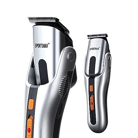 PYRUS Haarschneider Elektrorasierer für Männer & Baby, Multifunktions Power Razor Trimmer für Kopf, Gesicht, Nase, Elektrische Herren Rasierer, Rasierer (8 Anhänge)