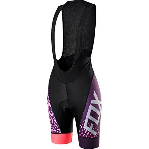 Fox Shorts Lady Switchback Comp Bib Plum 15265-209-L, Multi-Colored, Größe L - Comp-bib-shorts