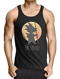 style3 Goku Dragon Moonlight Débardeur Homme Tank Top ball z