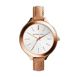 Michael Kors Analog White Dial Womens Watch-MK2284