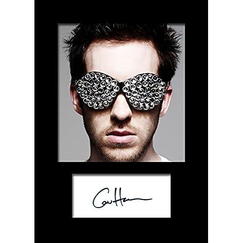 Calvin Harris firmada por #1 foto A5 diseño de