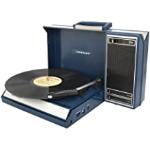 Crosley Spinnerette Belt-drive audio turntable Azul - Tocadiscos (12 W, Azul, Acrilonitrilo butadieno estireno (ABS))