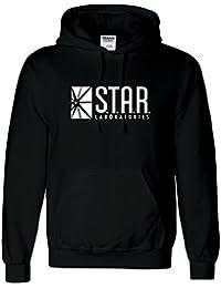 Sudadera con capucha inspirada en STAR Laboratories - Sudadera con capucha de S.T.A.R. Labs de la serie de TV The Flash