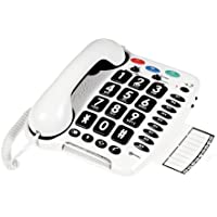 Geemarc CL100 Loud Big Button Corded Telephone- UK Version