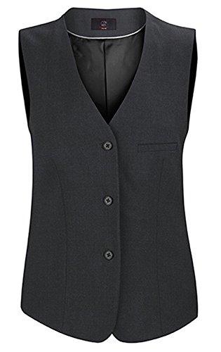 GREIFF Damen-Weste Anzug-Weste PREMIUM comfort fit - Style 1243 - anthrazit - Größe: 48 -