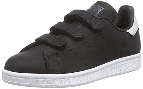 adidas Originals Stan Smith CF, Chaussures de Skateboard mixte adulte, Noir - Schwarz (Core Black/Core Black/Dgh Solid Grey), 40