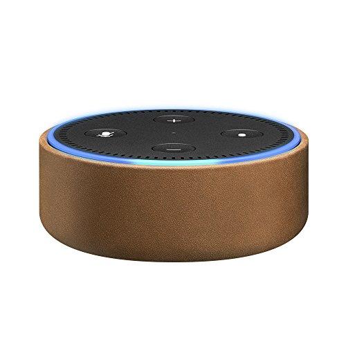 Amazon Echo Dot-Hülle (nur für Echo Dot 2. Generation geeignet), Naturleder