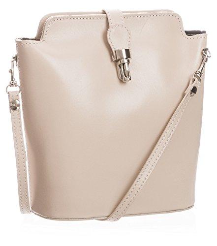 Big Handbag Shop, Borsa a tracolla donna One Cream