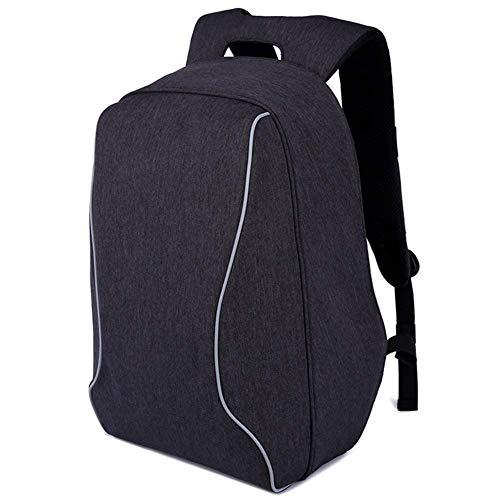 MUTANG Laptop-Rucksack 17-Zoll-Studenten-Tasche stoßfest Aniti-Dieb Reisetasche Leichte Sport Freizeit Daypack grau (Farbe : Dunkelgrau)