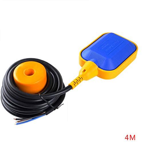 babysbreath17 2/3/4/5 Mio. Flüssige Schalter liquide Flüssigkeit Wasserstandsregler Magnetschalter Sensor Schütz Blau 7.5x10cm -