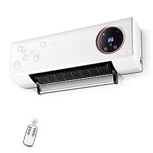 Calentador Eléctrico De 2 Kw Calentador Digital Montado En La Pared Cortina De Aire Calentador De Pantalla Con Elemento…