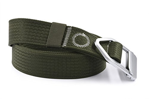 Nonwe Men's Nylon Military Style Casual Army Outdoor Tactical Webbing Buckle Belt
