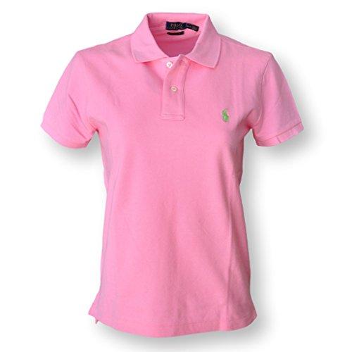 Polo Ralph Lauren Damen Poloshirt Hrtg Pink