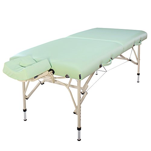 Master massaggi lettino da massaggio ultra leggero in alluminio portatile bel air confezione 28