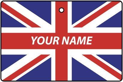 Deodorante Per Auto Personalizzato Con La Bandiera GREAT BRITAIN