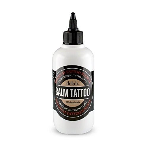 BALM TATTOO | Tattoo Stencil | Zum leichten Auftragen der Stencils auf der Haut (Stencil Flüssigkeit 250 ml) -