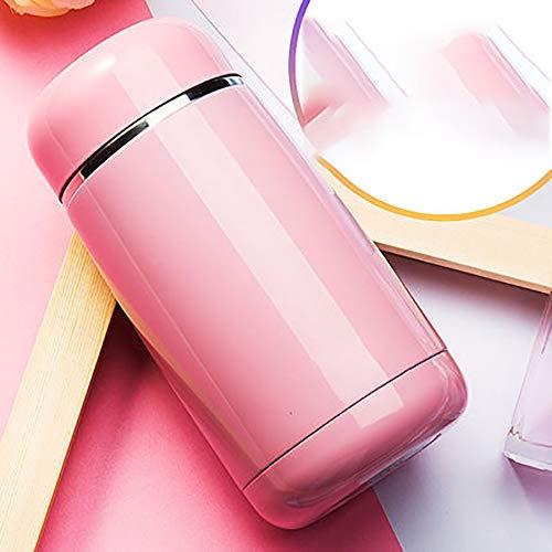WDCSHJSJD Thermos-Becher Edelstahl-Kaffeetasse Thermos-Flaschen-Becher Lebensmittelflasche -