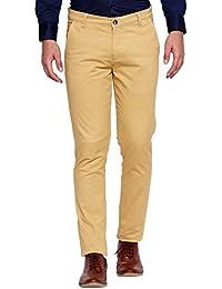 BAWN Mens Formal Trousers Slim Fit Blue Trouser, Cotton Formal Trousers For Men (SF02N-Parent)