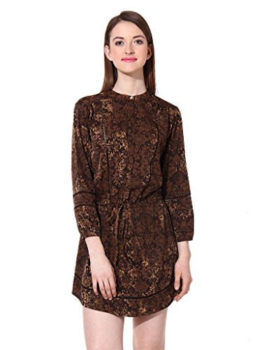 Oxolloxo Women printed dress  available at amazon for Rs.404