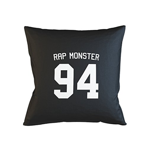 Rap Monster 94 Music Hip Hop Cool Kissenbezug Fall Sofa Bed Home Dekor Kissen Schwarz