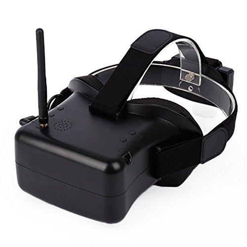 Modelo VR-007 G 5.8 40CH 4.3 pulgadas pantalla antena FPV gafas Video Gafas con 7.4V batería de 1600mAh para competir con el FPV