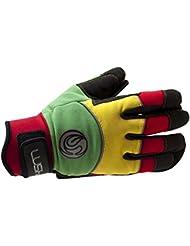 Lush Slide Gloves DLX Freeride, Rasta, M, 60106