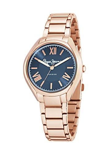 Pepe Jeans R2353101506 - Reloj con correa de caucho para mujer, color azul/gris