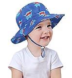 Alleza Cappello di Protezione Solare Sole Bambino Neonati Piccolo Bambini 50+ Adattabile con sottogola a Strappo