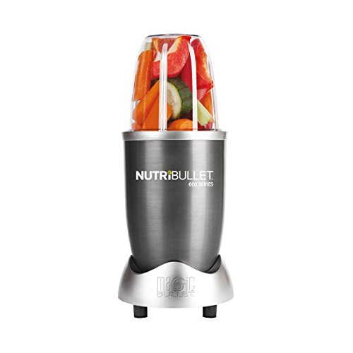 NutriBullet 600 Series Blender, 600 W, 12-Piece set, Graphite