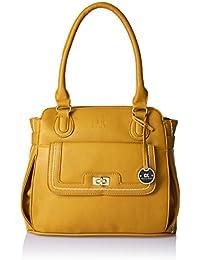 Diana Korr Womens's Shoulder Bag Handbag (Yellow) (DK20HYEL)