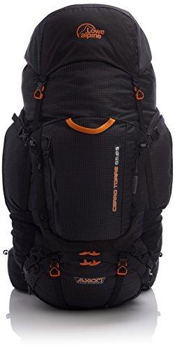 Lowe Alpine - Mochila unisex grande de senderismo y montañismo, 'Axiom 7Cerro Torre 65: 85 Large', color negro, tamaño talla única, volumen liters 65.0