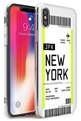 Boarding Pass Personalizada De Entradas: Nueva York