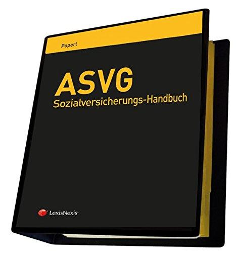 ASVG-Sozialversicherungs-Handbuch in zwei Teilen (Loseblatt) -