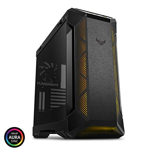 Asus GT501/GRY/WITH Handle TUF Gaming GT501 Mid-Tower Computer Case for up to EATX Motherboards with USB 3.0 Front Panel Cases