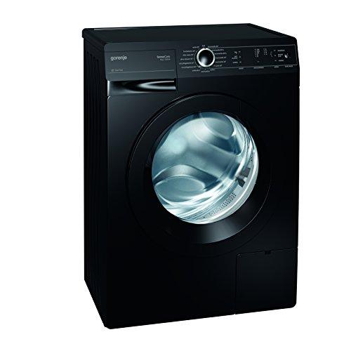 Gorenje W 6222 PB/S Waschmaschine FL / A++ / 6 kg / 1200 UpM / schwarz / SensoCare-Waschsystem / Quick 17 / SlimLine: Tiefe 44 cm / Colour Collection