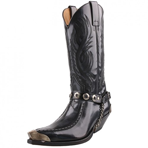 Sendra cowboystiefel 5844 anthracite Anthracite
