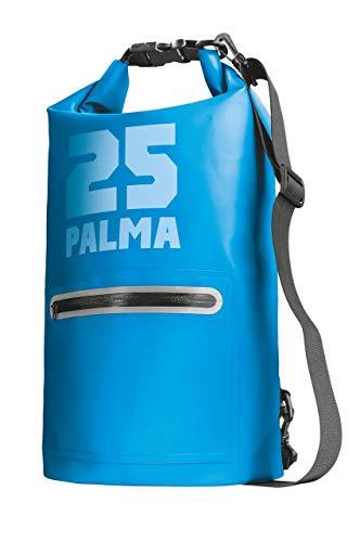Trust Palma Wasserdichter Beutel 25 Liter (Tasche für Kayaking/Bootfahrt/Kanufahren/Fischen/Kampieren/Snowboarden) Blau